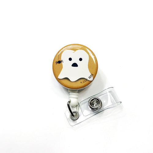 Cusper the Friendly Molar Badge Reel / Pin