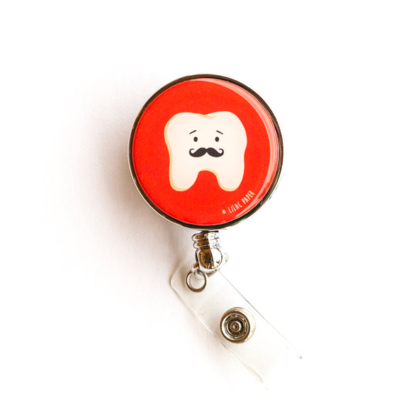 Mr. Mustache Red Badge Reel