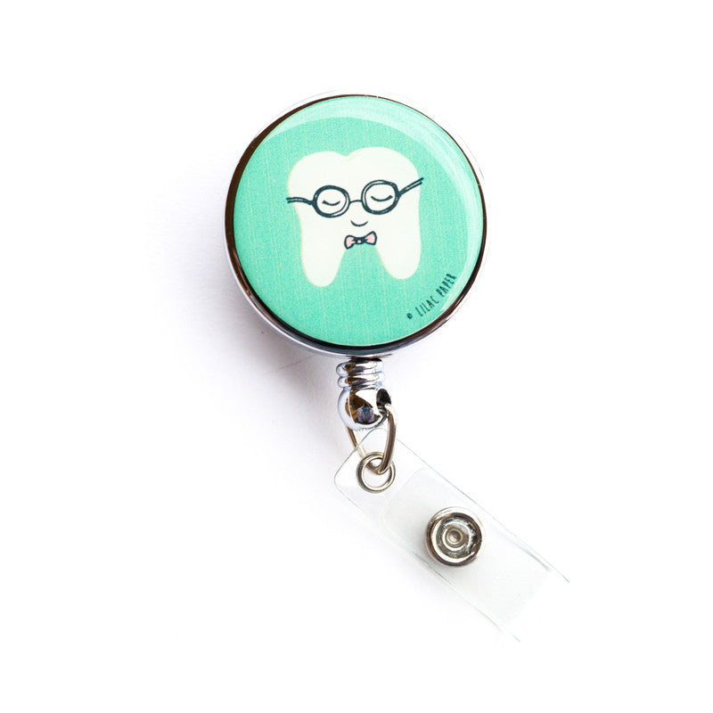 Nerd Alert Heavy Duty Badge Reel