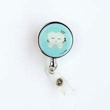 Princess Prophy Light Blue Heavy Duty Badge Reel