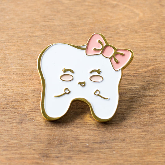 Sweet Tooth Enamel Pin