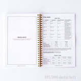 Notebook w/ DENTAL FACTS