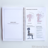 Personalized Lilac Notebook w/ *Dental Facts*