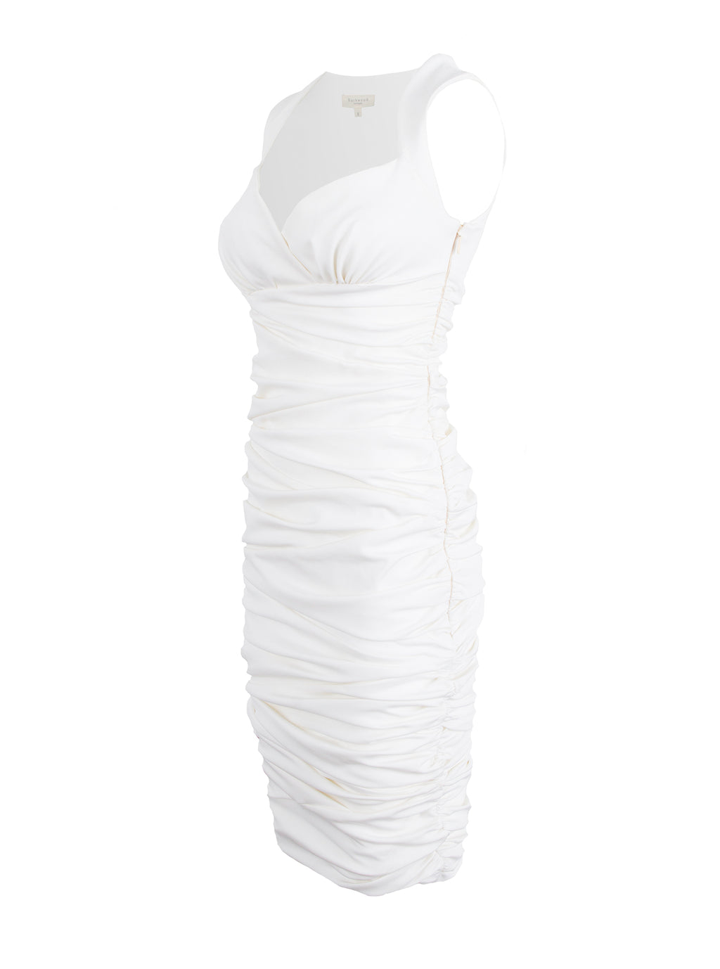 Ivory Multi-Paneled Dress