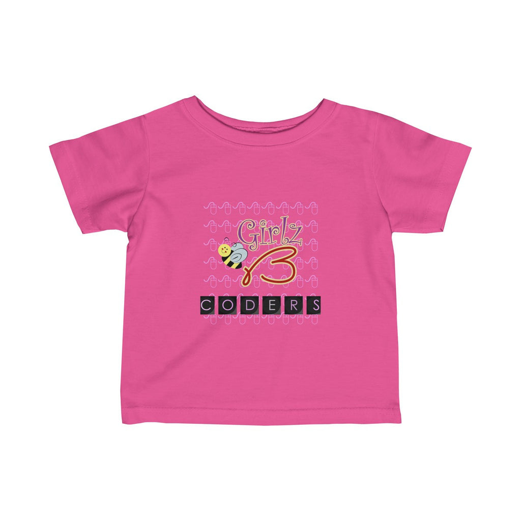 "Infant Fine Jersey Tee - ""Coders"" Design"