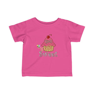 Infant Fine Jersey Tee - Original Cupcake Design