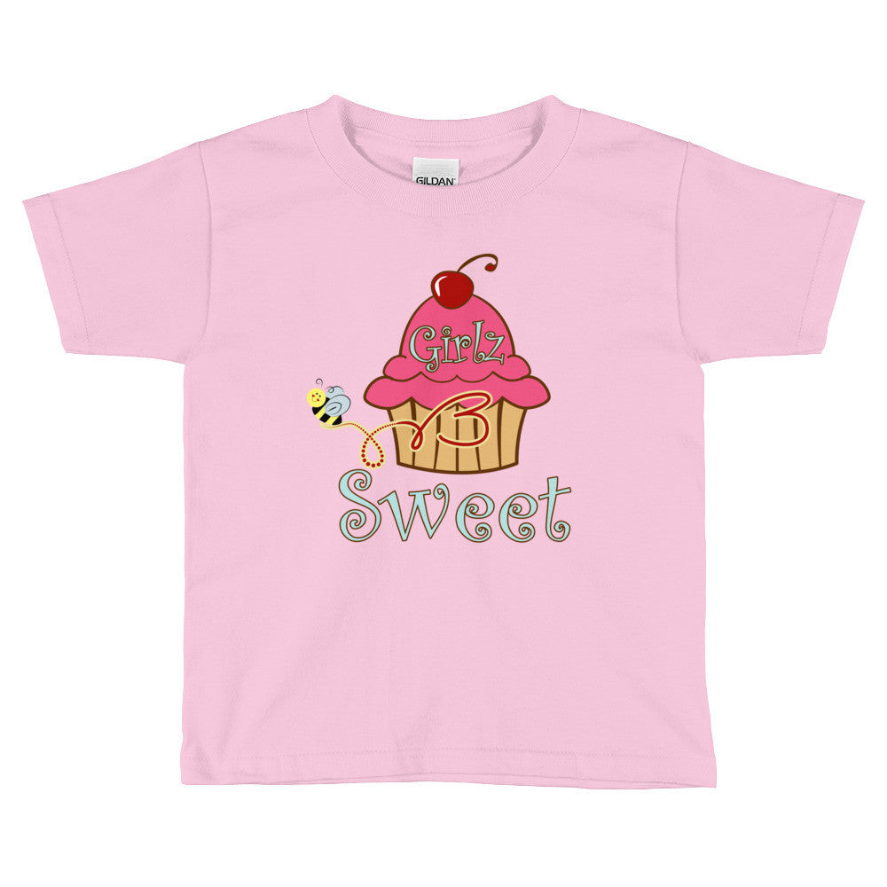 Kids Short Sleeve T-Shirt - Original Cupcake Design