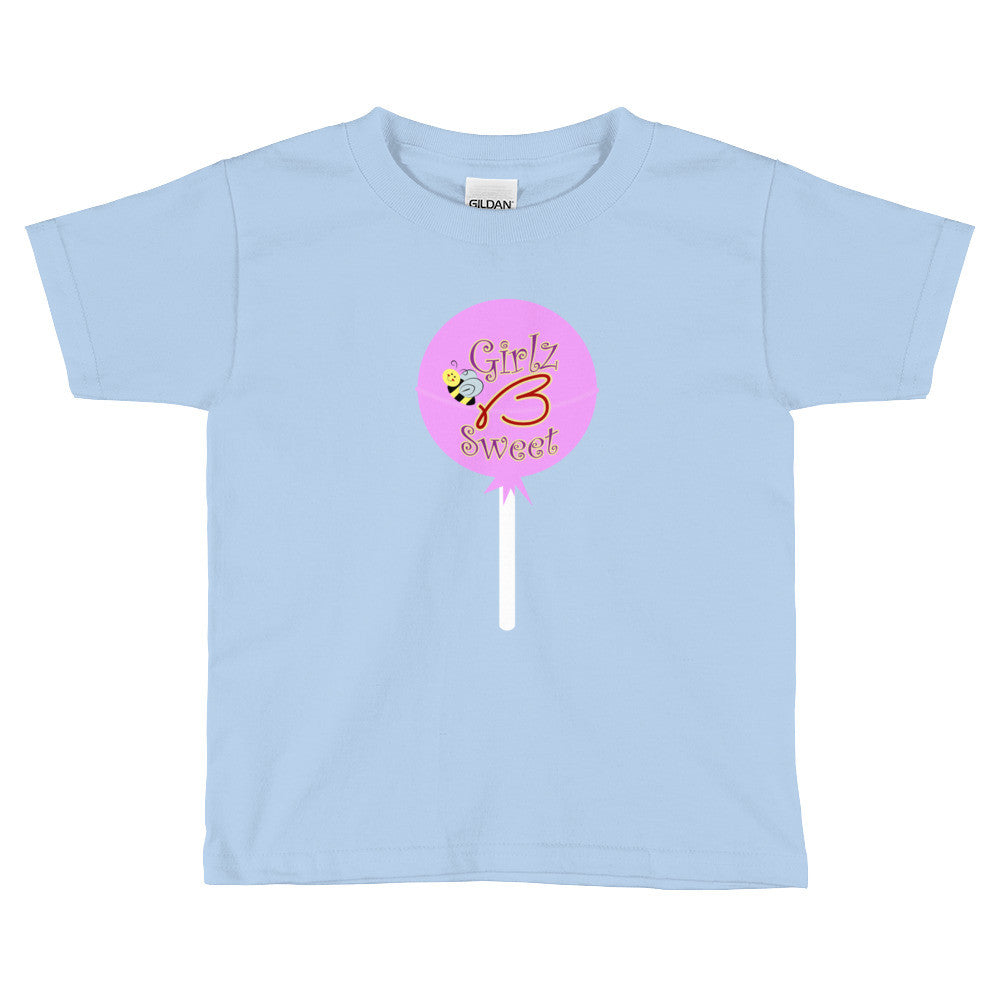 Kids Short Sleeve T-Shirt - Lollipop Design