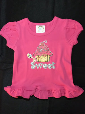 Cutest Girls' Cup Cake Shirt