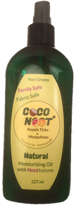 Coconut Oil Spray with Nootkatone