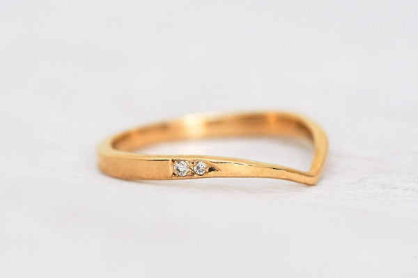 Mijatu Take Flight Diamond and Recycled Gold Ring with Australian Argyle Diamonds