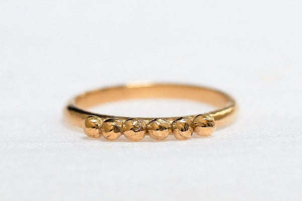 Mijatu Pollen Recycled Gold Ring