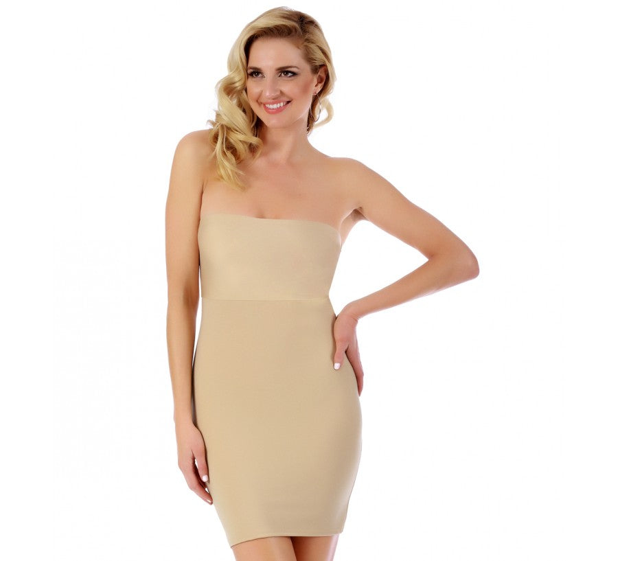 InstantFigure Shapewear Strapless Slimming Dress