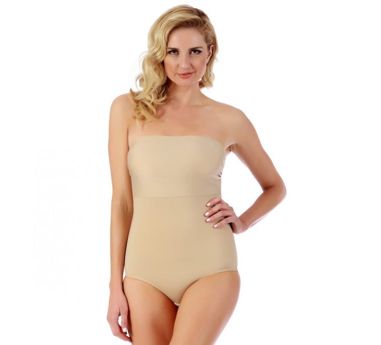 InstantFigure Shapewear Bandeau Brief With Hook & Eye