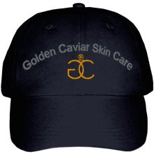 Embroidered Golden Cavair Skin Care Hat