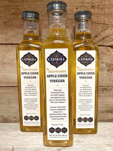 Aged NY State Apple Cider Vinegar - What.The.Soap.