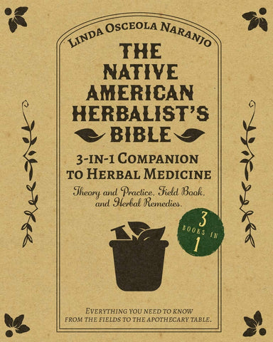 Native American Herbalist's Bible - 3-in-1 Companion to Herbal Medicine
