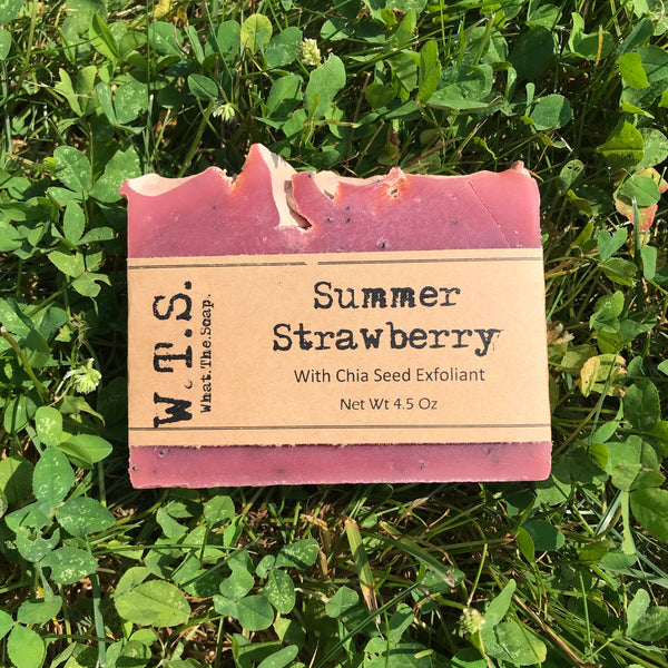 Summer Strawberry, Bar.Soap. - What.The.Soap.