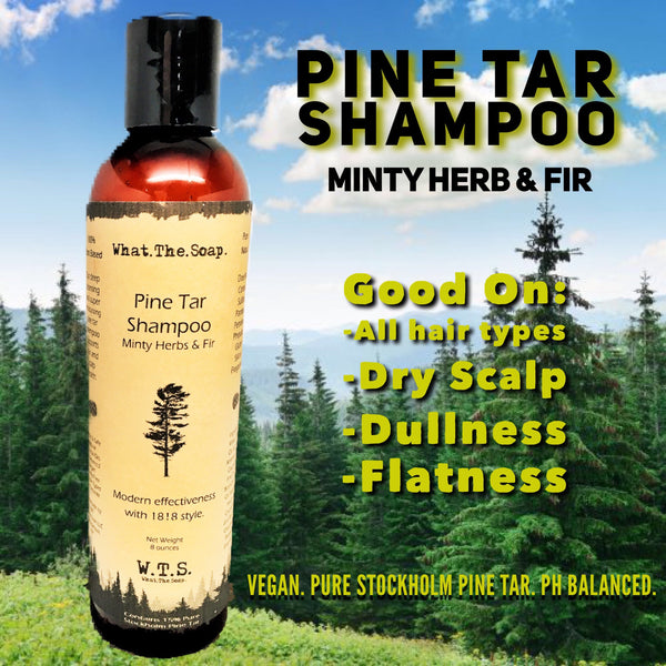 Pine Tar Shampoo - What.The.Soap.