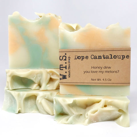 Dope Cantaloupe, Bar.Soap. - What.The.Soap.