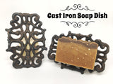 Cast Iron Soap Dish - What.The.Soap.