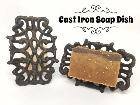 Cast Iron Soap Dish, Soap.Dish. - What.The.Soap.