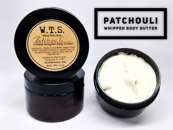 Vanilla Patchouli Whipped Body Butter (Den of the Beatnik), Body.Butter. - What.The.Soap.