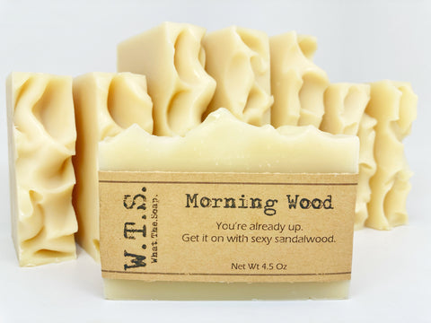 Morning Wood (Sandalwood) - What.The.Soap.