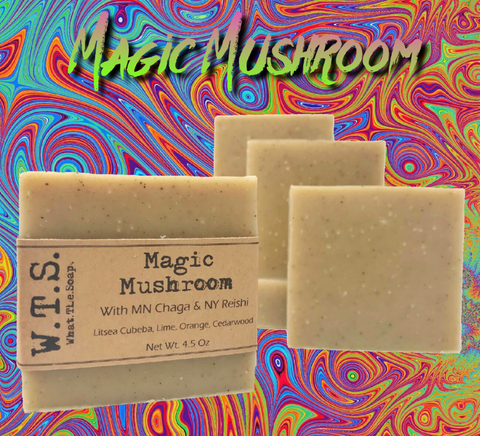 Magic Mushroom, Bar.Soap. - What.The.Soap.