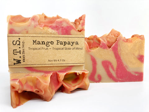 Mango Papaya, Bar.Soap. - What.The.Soap.