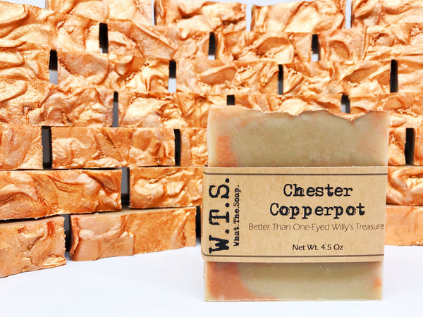 Chester Copperpot, Bar.Soap. - What.The.Soap.