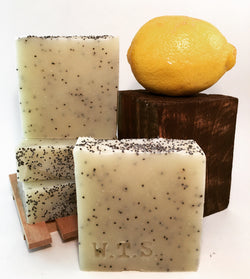 Lemon Poppyseed, Bar.Soap. - What.The.Soap.