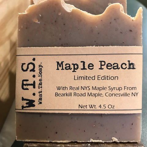 Maple Peach,  - What.The.Soap.