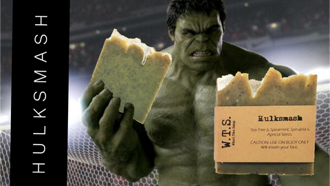 Hulksmash, Bar.Soap. - What.The.Soap.