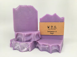 Lavender Sage, Bar.Soap. - What.The.Soap.
