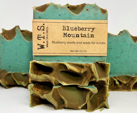 Blueberry Mountain (Scrubby) - What.The.Soap.