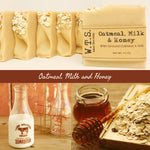 Oatmeal, Milk and Honey (OMH) - What.The.Soap.