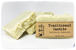 100% Pure Olive Oil Castile Soap, Bar.Soap. - What.The.Soap.