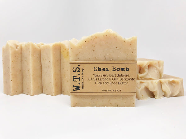 Shea Bomb, Bar.Soap. - What.The.Soap.