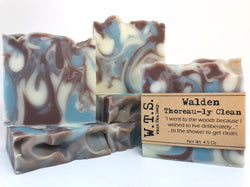 Walden - Thoreau-ly Clean, Bar.Soap. - What.The.Soap.