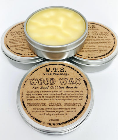 Wood Wax - What.The.Soap.
