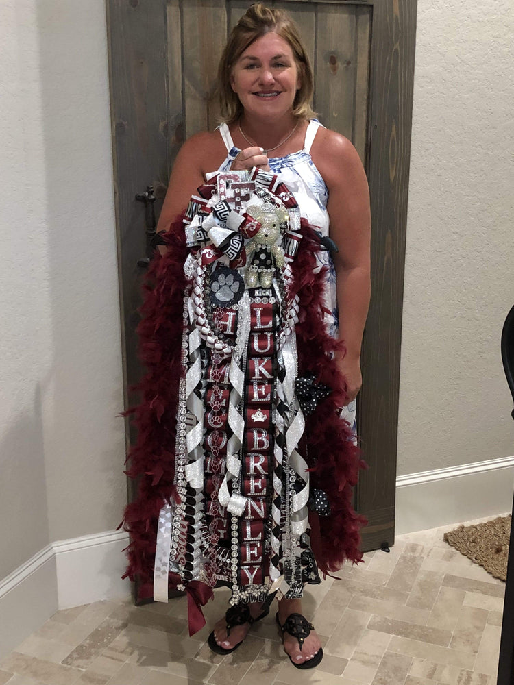 Peace Love and Mums- Homecoming Mums by Rebecca Ultimate Girl Mums HYBRID Ultimate Single Mum