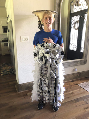 Peace Love and Mums- Homecoming Mums by Rebecca Ultimate Girl Mums Ultimate Double-Wide Mum
