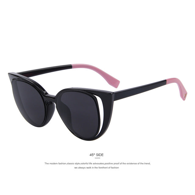 Cat Eye Sunglasses Retro Pierced