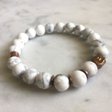 Awakened One Bracelet - Howlite