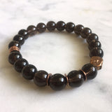 Awakened One Bracelet - Smoky Quartz