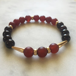 Threshold of Bliss - Red Garnet & Carnelian