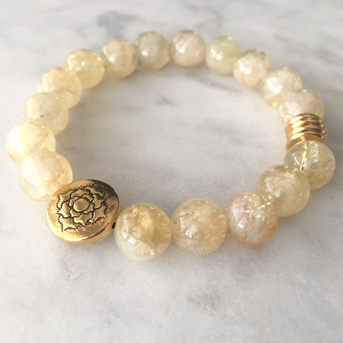 Seat of the Soul Bracelet - Citrine