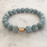 He Am I Men's Bracelet - Aquamarine