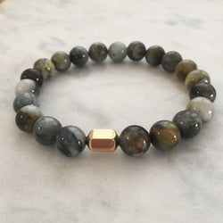 He Am I Men's Bracelet - Cat's Eye